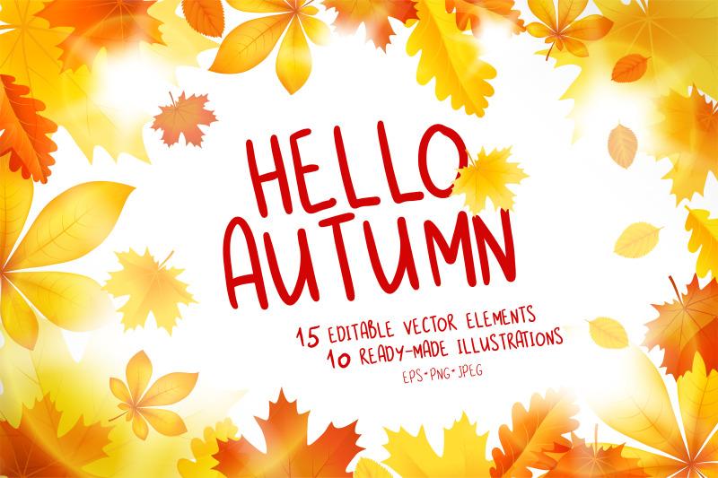 hello-autumn-vector-collection