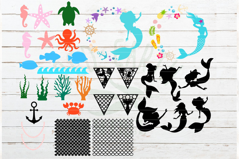 huge-mermaid-nautical-svg-bundle-fish-scale-template-svg