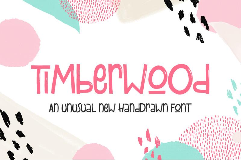 timberwood-font