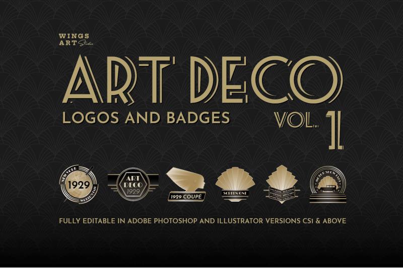 art-deco-logos-and-badges-vol-1