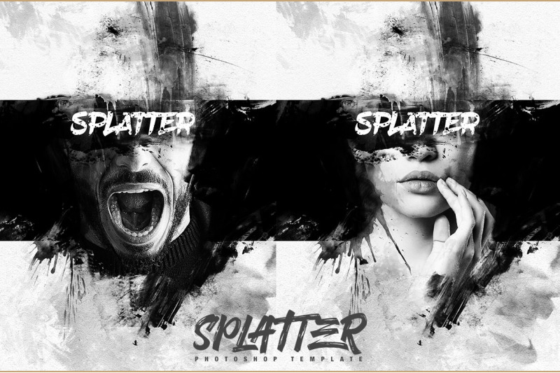 splatter-photo-template