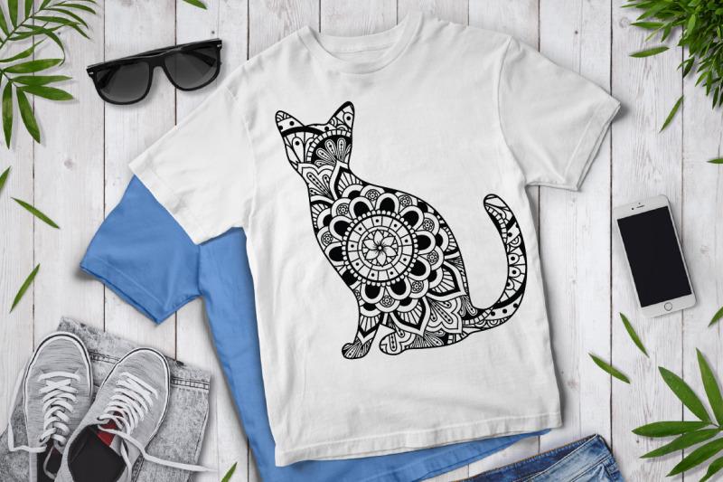 cat-mandala-cut-files-svg-cat-mandala-clipart