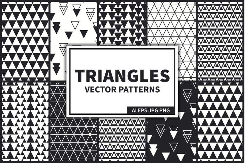 triangles-vector-seamless-pattern