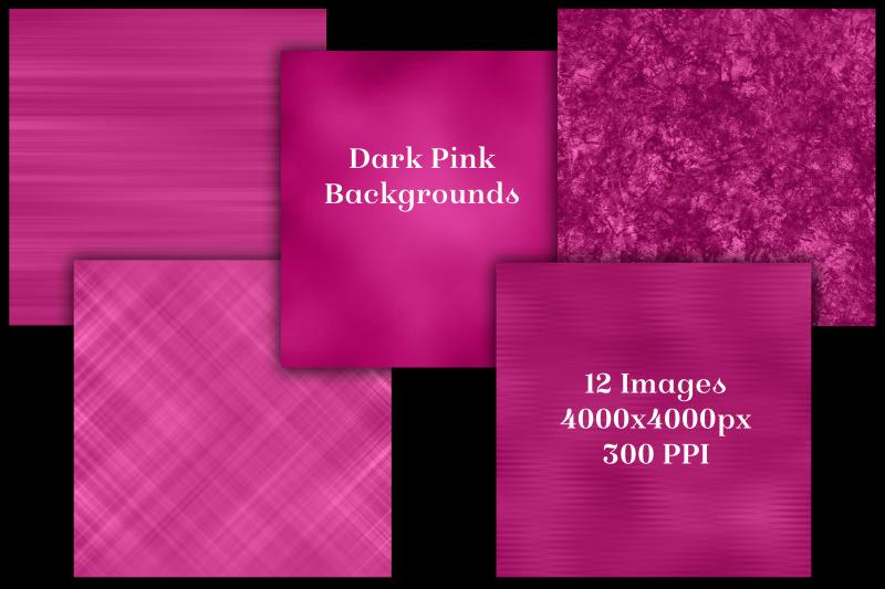 dark-pink-backgrounds-12-image-textures-set