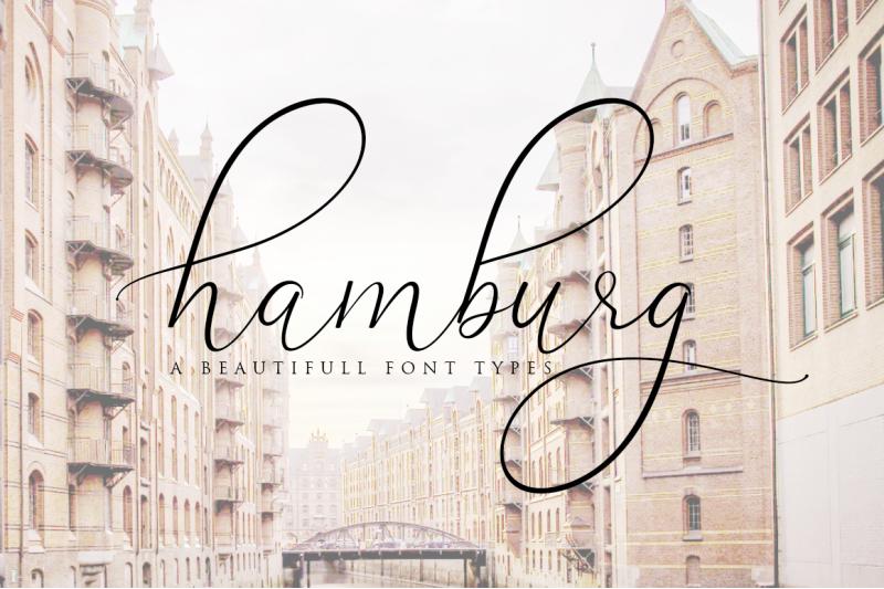hamburg-love-font-pretty