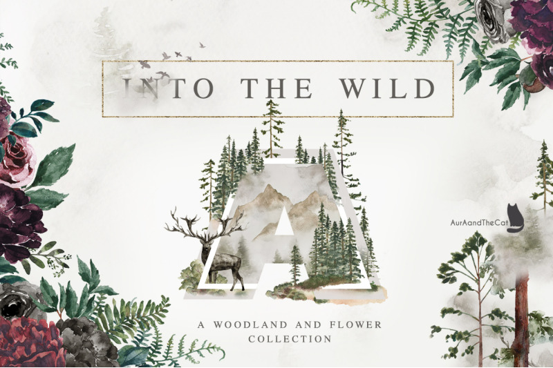 into-the-wild-watercolor-collection
