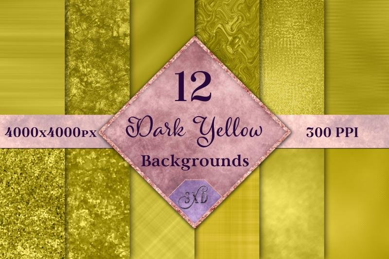 dark-yellow-backgrounds-12-image-set