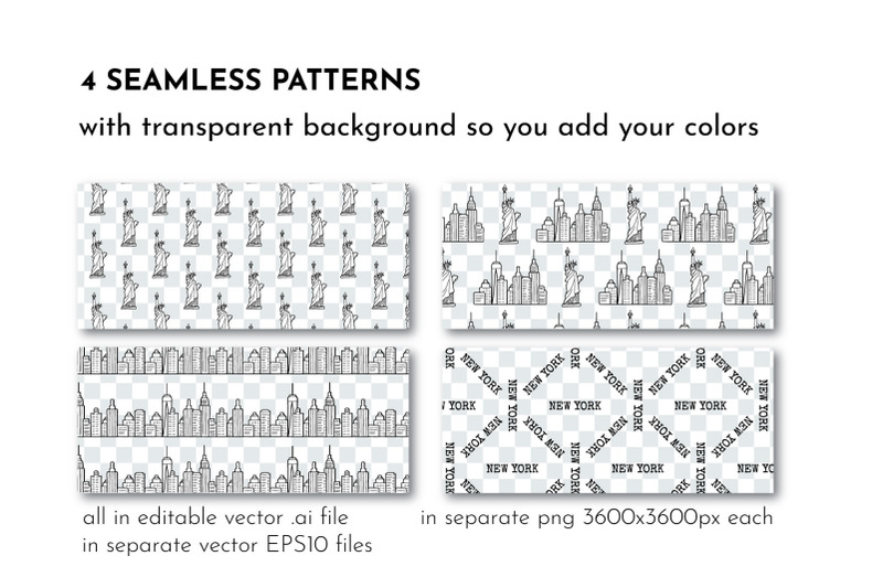 new-york-line-drawing-amp-patterns