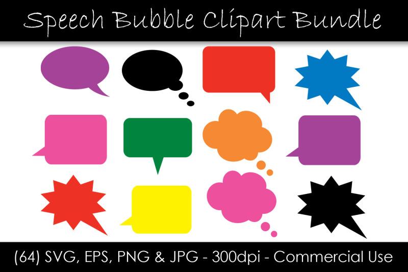 solid-speech-bubble-svg-bundle