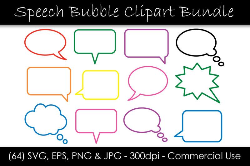 outline-speech-bubble-svg-bundle
