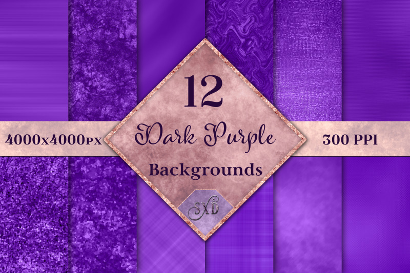 dark-purple-backgrounds-12-image-textures-set