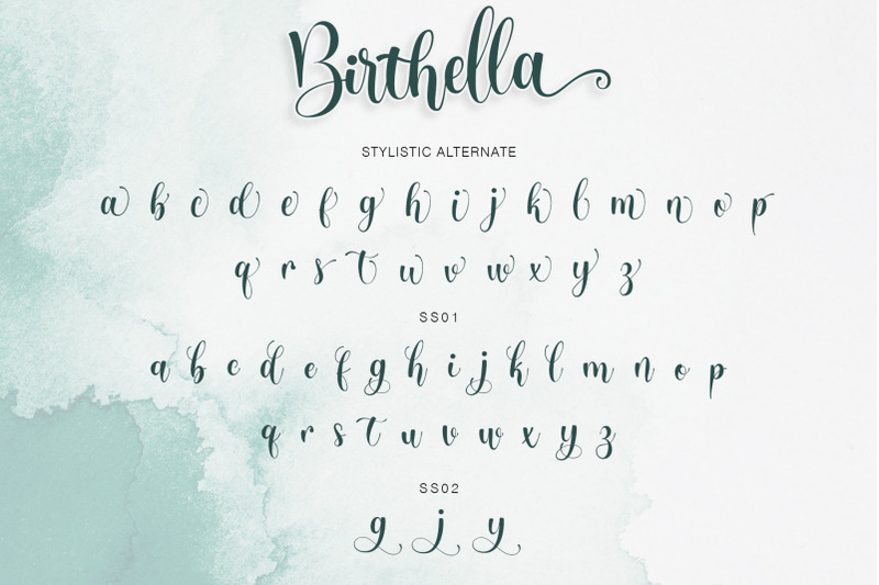 birthella-modern-calligraphy