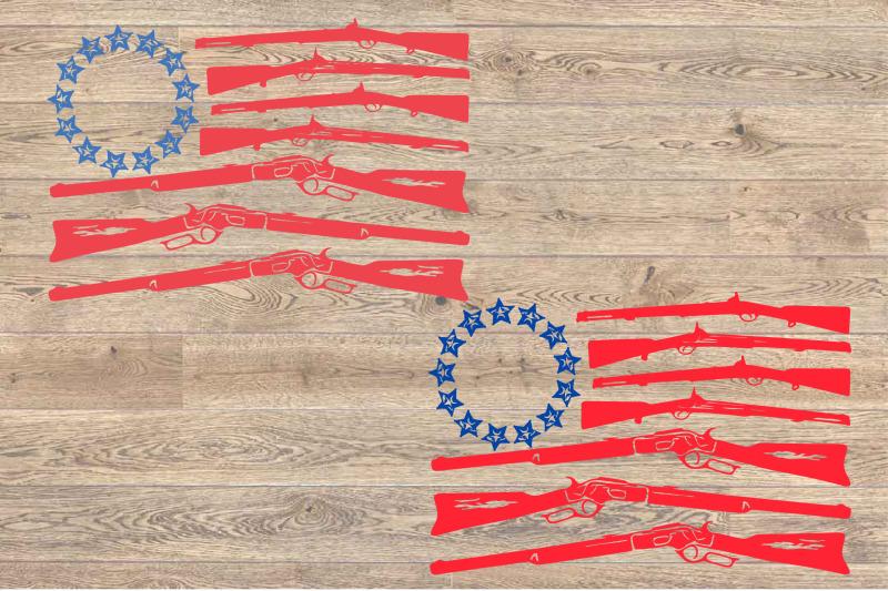 gun-flag-svg-rifle-memorial-life-dad-2nd-america-usa-1702s
