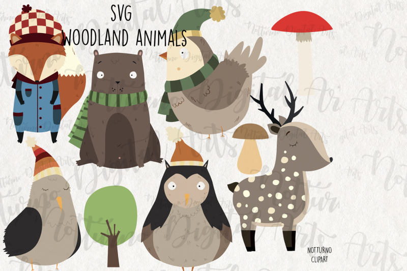 svg-woodland-animal