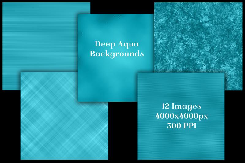deep-aqua-backgrounds-12-image-textures-set