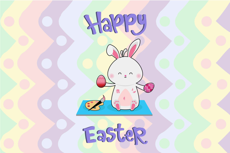 easter-painting-bunny-egg