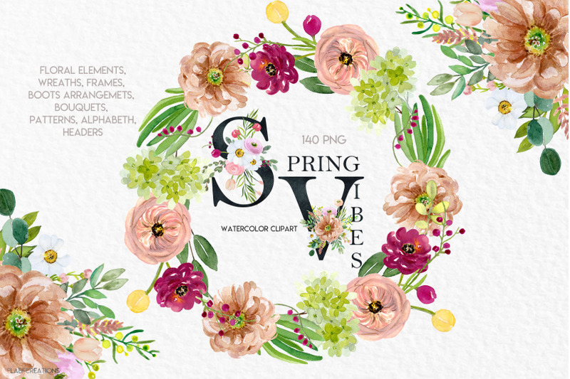 spring-vibes-watercolor-floral-clipart