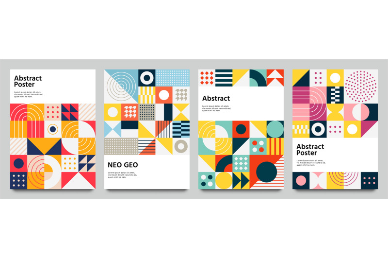 color-neo-geo-poster-modern-grid-flyer-with-geometric-shapes-geometr