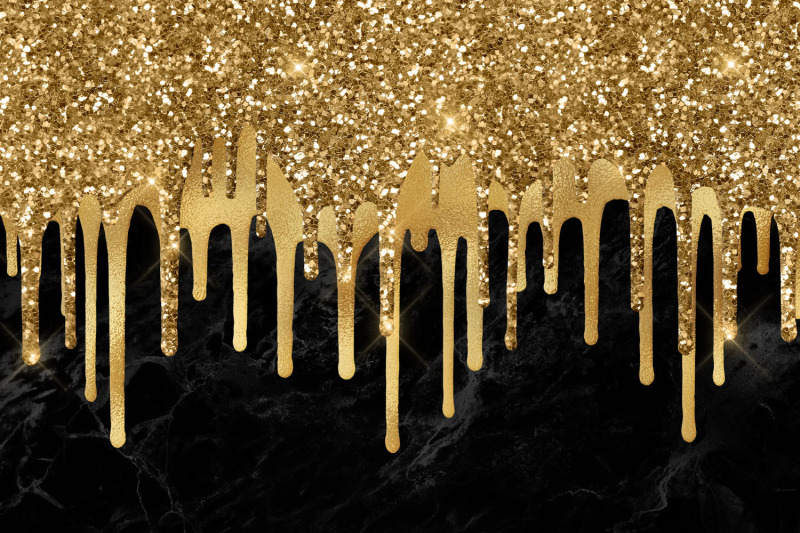 dripping-gold-clipart