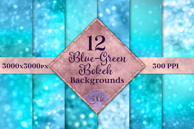 blue-green-bokeh-backgrounds-12-image-textures-set