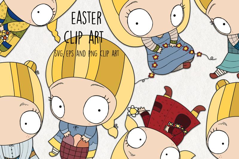 easter-svg-clipart-set-of-7-digital-easter-clip-art-vectors-easter-s