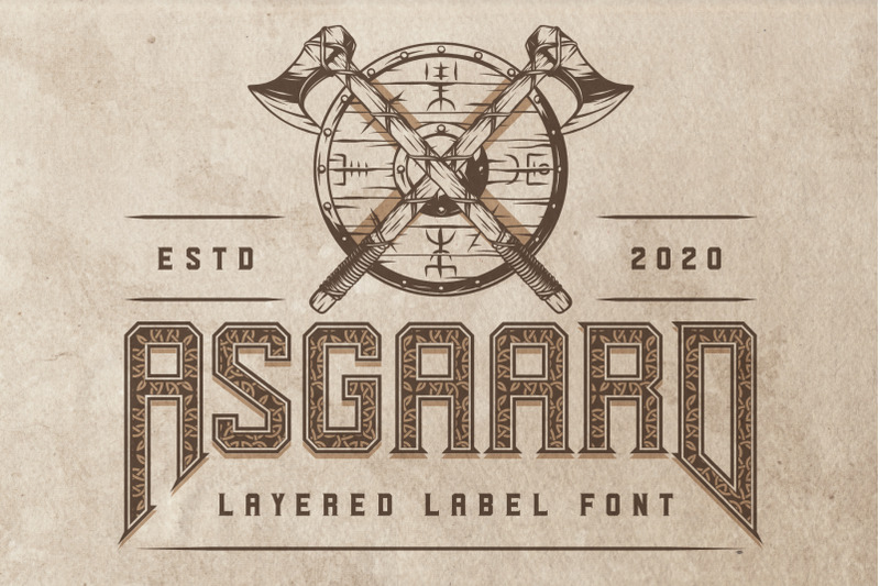 asgaard-layered-label-font