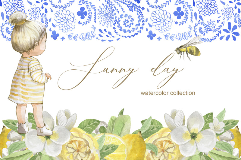 sunny-day-watercol4or-collection