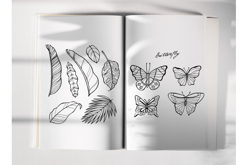 tropic-coloring-book-pages