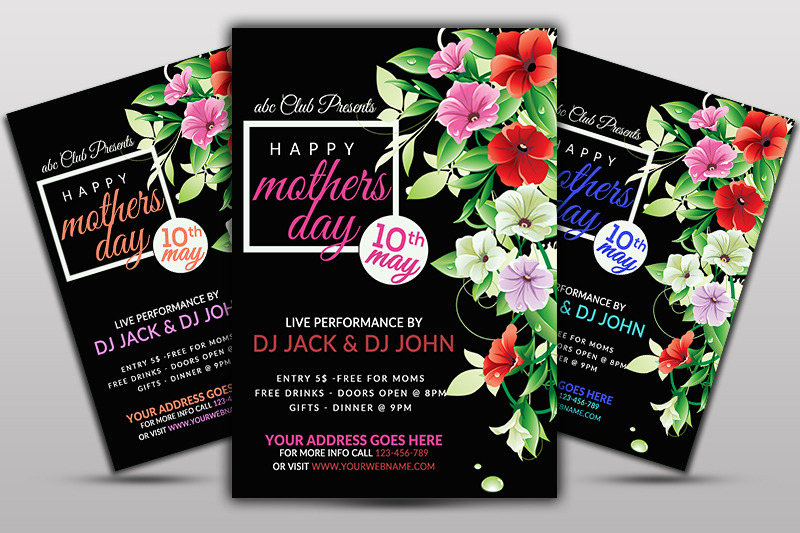 mother-039-s-day-event-flyer-template