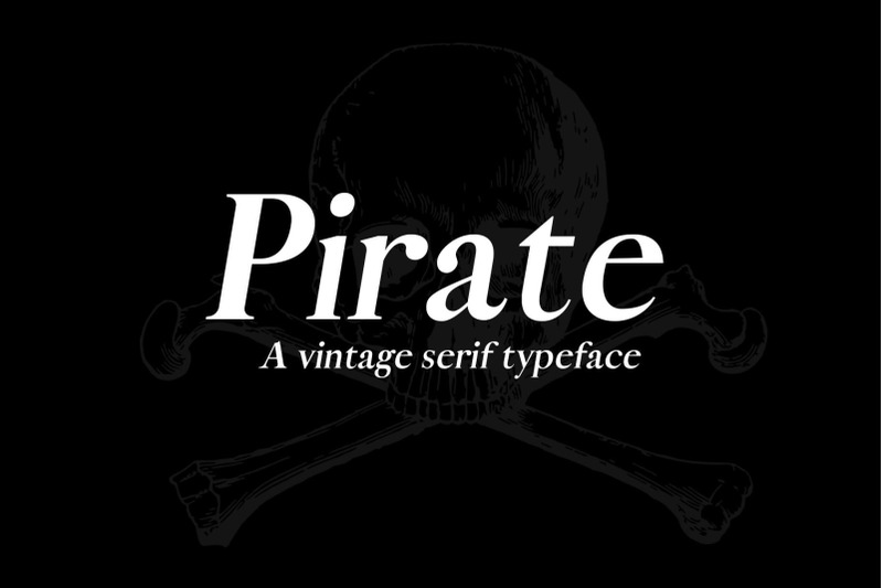 a-pirate-typeface