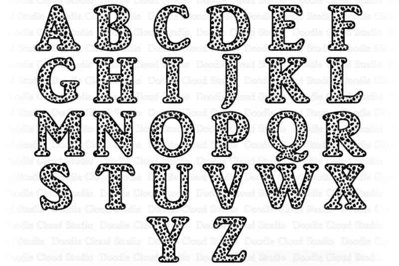 cheetah-alphabet-svg-cheetah-letters-clipart