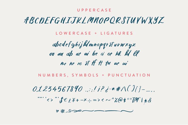 lekker-handwritten-font