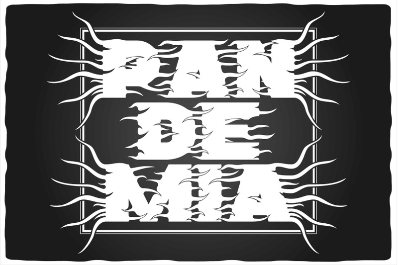 pandemia-typeface
