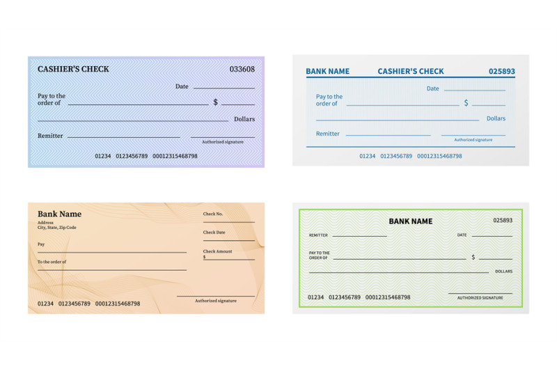 check-template-blank-bank-cheque-with-guilloche-pattern-and-watermark