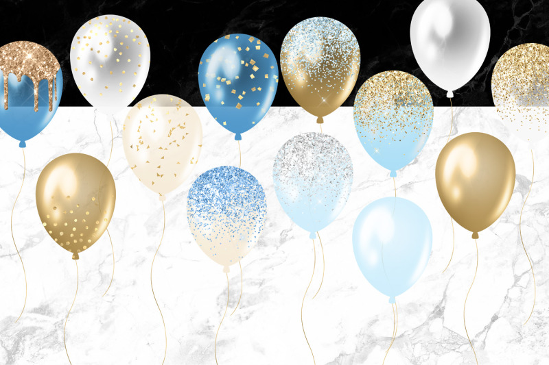 blue-and-gold-balloons-clipart