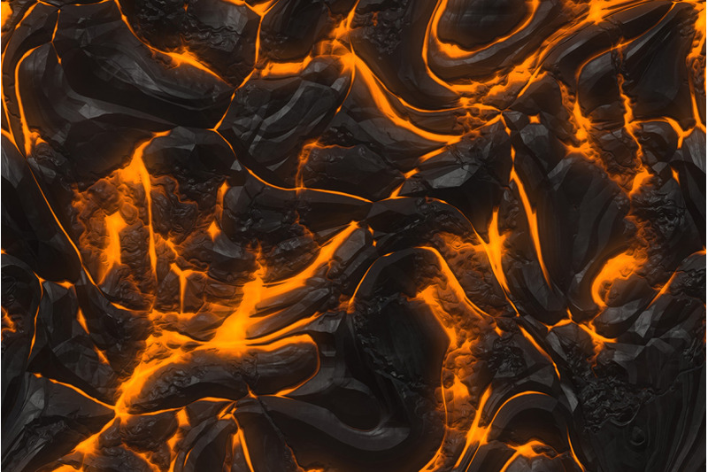 fire-and-lava-textures