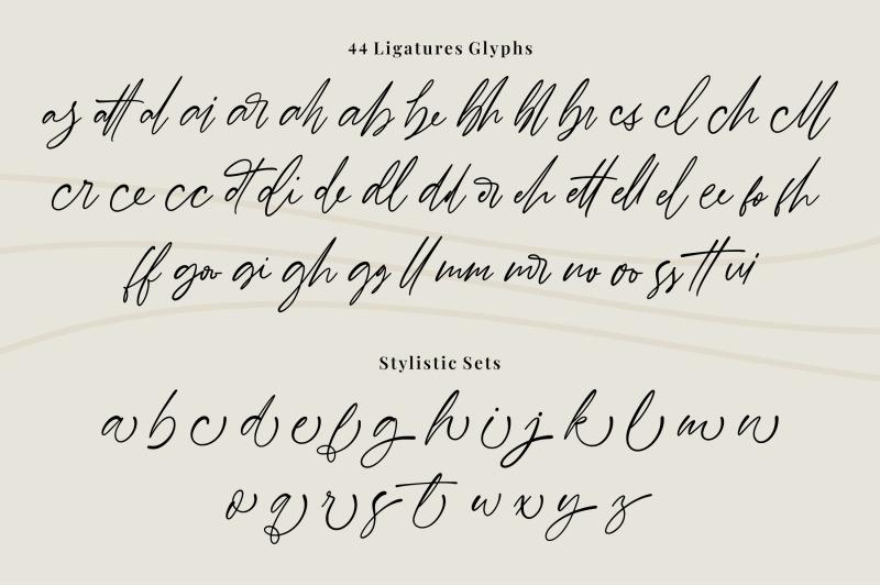 barnett-signature-font