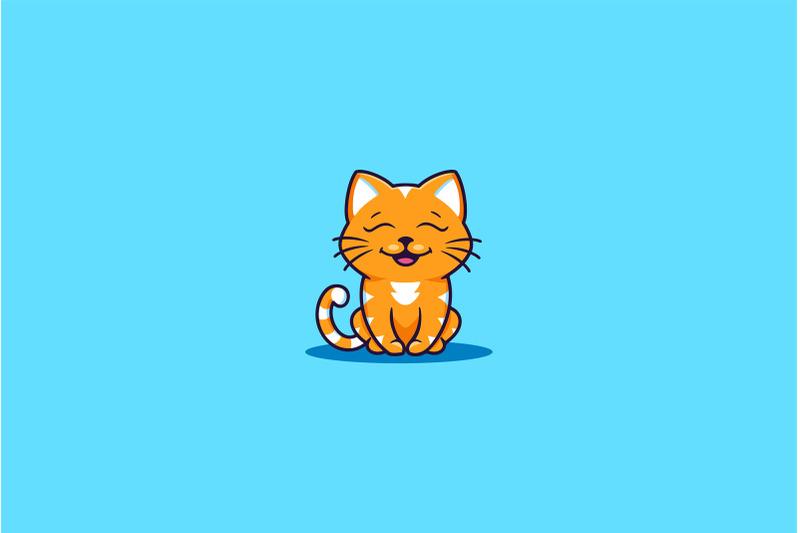 set-of-logos-funny-cats