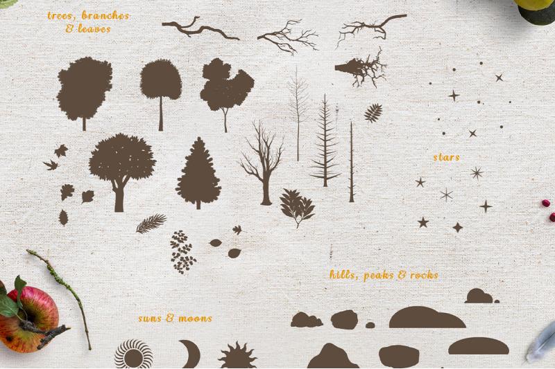 woodland-animal-scene-creator