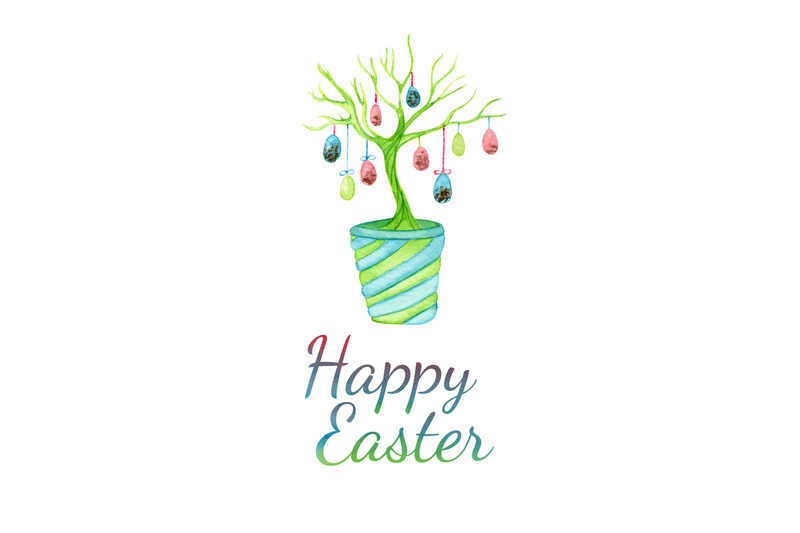 easter-greeting-card-with-easter-tree-with-eggs