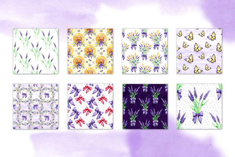 watercolor-lavender-digital-paper