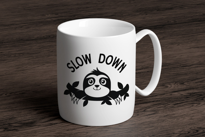 sloth-svg-bundle