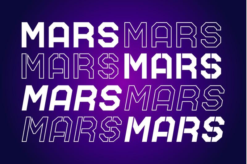 mars-nt-stencil-font