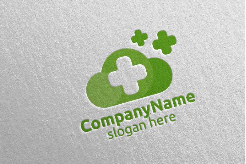 cloud-cross-medical-hospital-logo-7