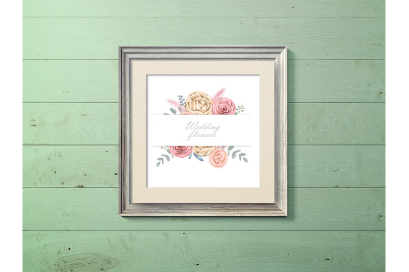 watercolor-cream-roses-cliparts