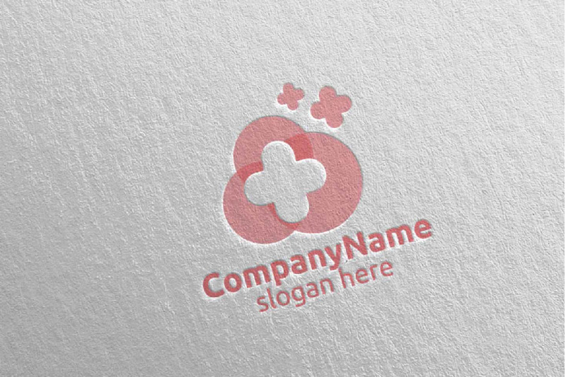 cloud-cross-medical-hospital-logo-24
