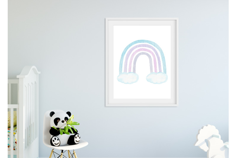 watercolor-pastel-rainbow-collection