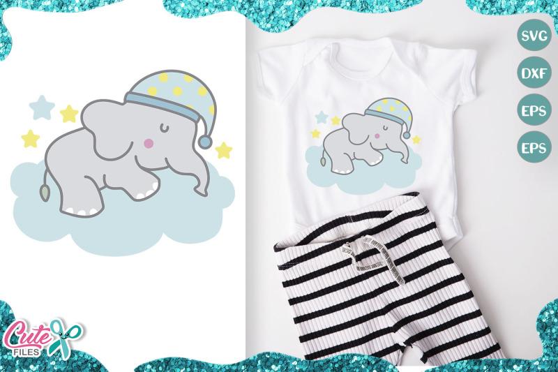 little-elephant-sweet-dreams-svg-cut-file