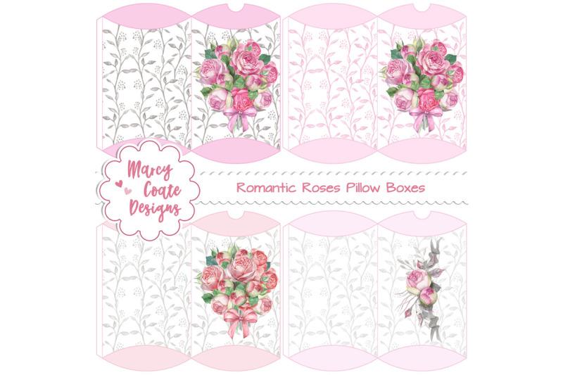 romantic-roses-printable-pillow-boxes