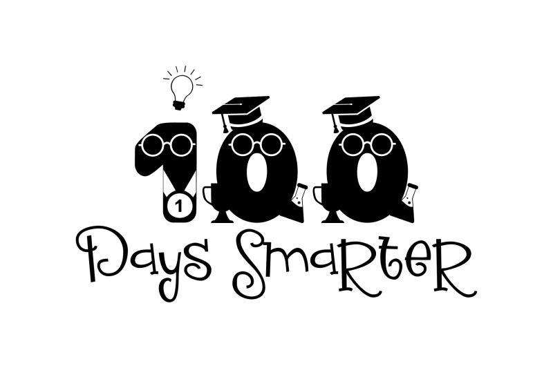 100-days-smarter-svg-png-eps